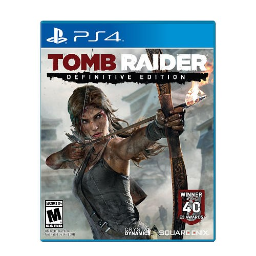 SONY Sony PlayStation 4 Game TOMB RAIDER DEFINITIVE EDITION - PS4