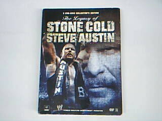 WWE DVD THE LEGACY OF STONE COLD STEVE AUSTIN