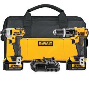 DEWALT Combination Tool Set DCK285L2