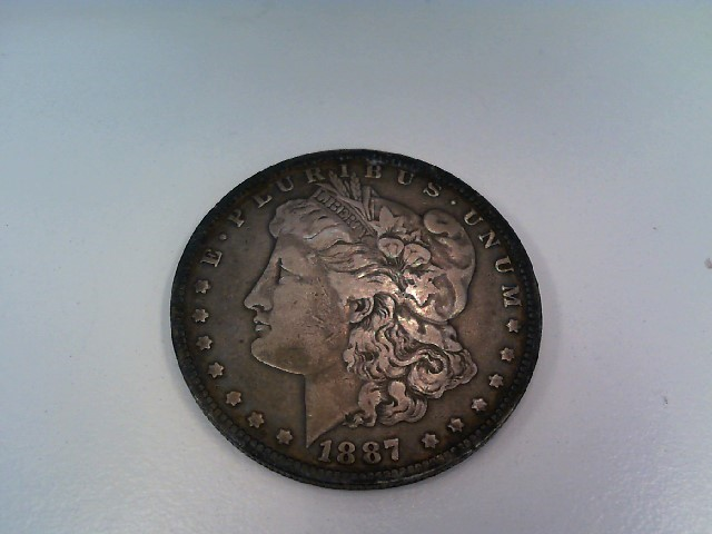 UNITED STATES Silver Coin 1887 O MORGAN
