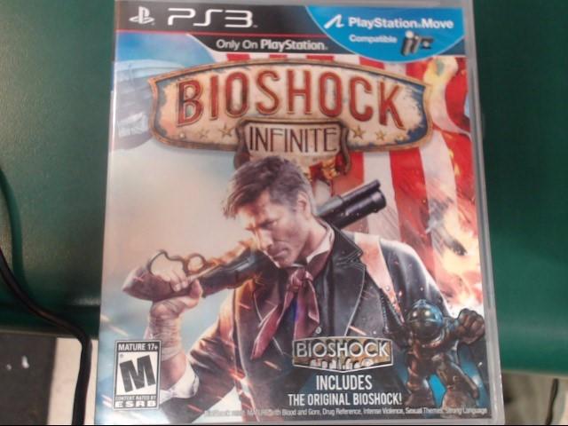 SONY Sony PlayStation 3 Game PS3 BIOSHOCK INFINITE