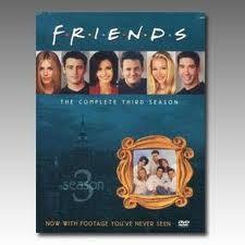 DVD BOX SET DVD FRIENDS SEASON 3