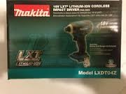 MAKITA Impact Wrench/Driver LXDT04Z