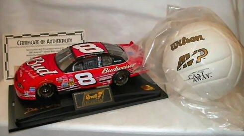 REVELL COLLECTION Toy 2001 BUDWEISER CHEVROLET MONTE CARLO 1:24 W/ WILSO