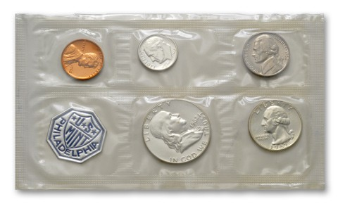 UNITED STATES Coin 1962 MINT SET