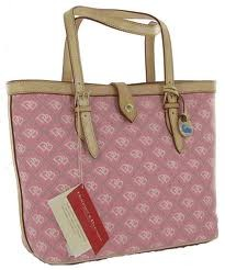 DOONEY & BOURKE Handbag PINK MONOGRAM