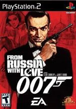 SONY Sony PlayStation 2 Game 007 FROM RUSSIA WITH LOVE PS2