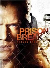 DVD BOX SET DVD PRISON BREAK SEASON 3