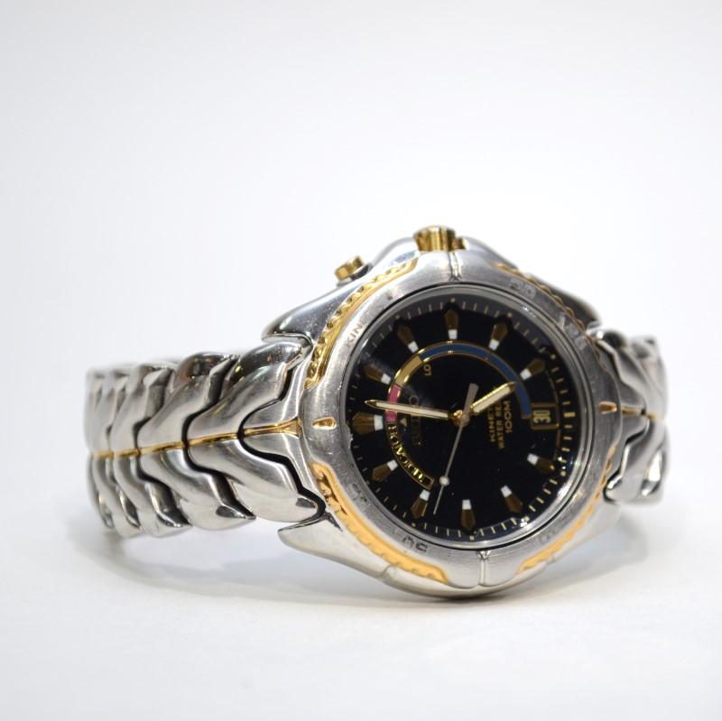 SEIKO Gent's Wristwatch 5M62-0B40
