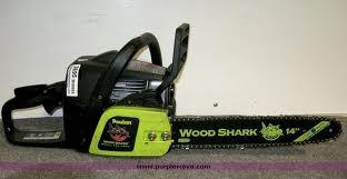 POULAN Chainsaw WOOD SHARK P3314WSA