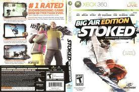 MICROSOFT Microsoft XBOX 360 Game BIG AIR EDITION STOKED