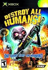 MICROSOFT Microsoft XBOX DESTROY ALL HUMANS