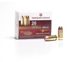 DYNAMIC RESEARCH TECHNOLOGIES Ammunition 45 AUTO