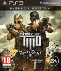 SONY Sony PlayStation 3 Game ARMY OF TWO THE DEVILS CARTEL OVERKILL EDITION