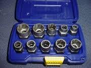 IRWIN TOOLS Sockets/Ratchet 2P12489 SCREW/BOLT EXTRACTOR SET (10 PC)