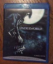 UNDERWORLD, BLU-RAY DVD MOVIE