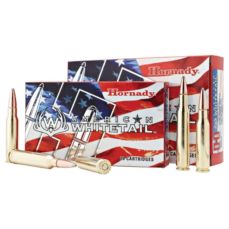 HORNADY Ammunition AMERICAN WHITETAIL 243 WIN 100 GRAIN INTERLOCK