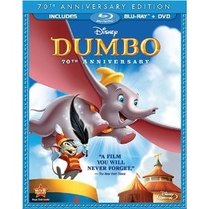 BLU-RAY MOVIE Blu-Ray DUMBO 70TH ANNIVERSARY