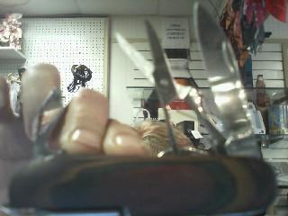 ARMY Pocket Knife SWISS KNIFE BROWN