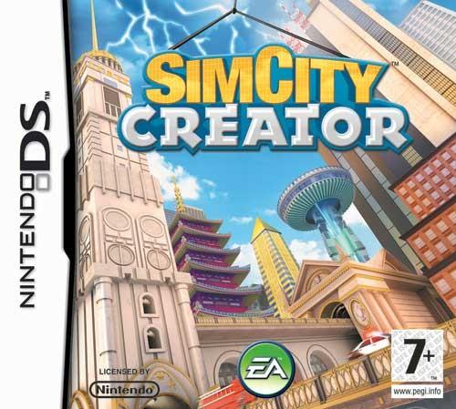 NINTENDO Nintendo DS Game SIM CITY CREATOR