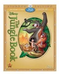 BLU-RAY MOVIE Blu-Ray THE JUNGLE BOOK DIAMOND EDITION