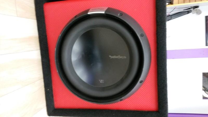 "ROCKFORD FOSGATE Car Speakers/Speaker System 12"" T2"