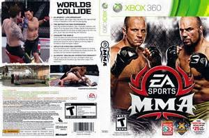 MICROSOFT Microsoft XBOX 360 Game X BOX 360 EA SPORTS MMA