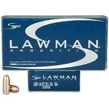 LAWMAN AMMO Ammunition 380
