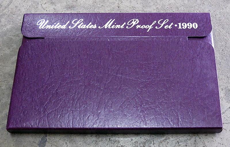 UNITED STATES 1990 MINT PROOF SET