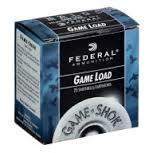 """FEDERAL AMMUNITION Ammunition 20 GA #8 2.75"""" 7/8 OZ GAME LOAD"""