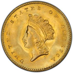 1849 DOUBLE EAGLE Gold Coin GOLD DOLLAR