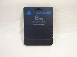 SONY Video Game Accessory SCPH-10020 PS2 MEMORY CARD 8MG