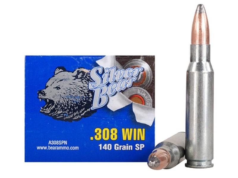 SILVER BEAR AMMO Ammunition .308 WIN