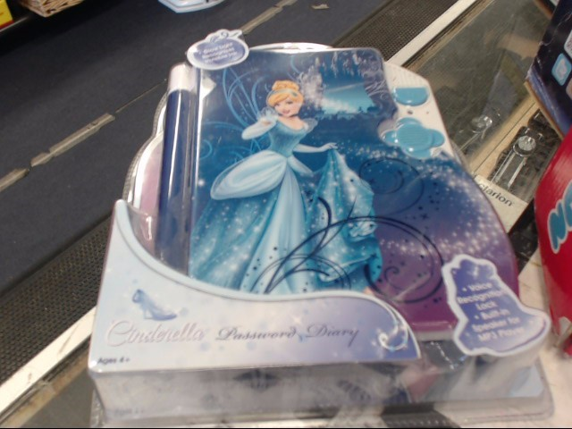 DISNEY INFINITY Miscellaneous Toy PRINCESS CINDERELLA PASSWORD DIARY