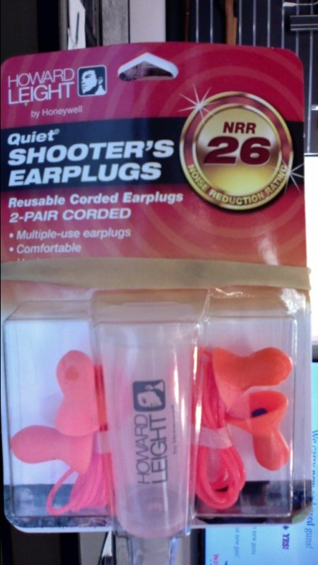 HONEYWELL SAFETY PRODUCTS Hunting Gear HOWARD LEIGHT QUIET SHOOTER'S EARPLUGS