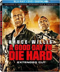 BLU-RAY MOVIE Blu-Ray A GOOD DAY TO DIE HARD EXTENDED CUT