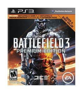 SONY Sony PlayStation 3 Game BATTLEFIELD 3 PREMIUM EDITION