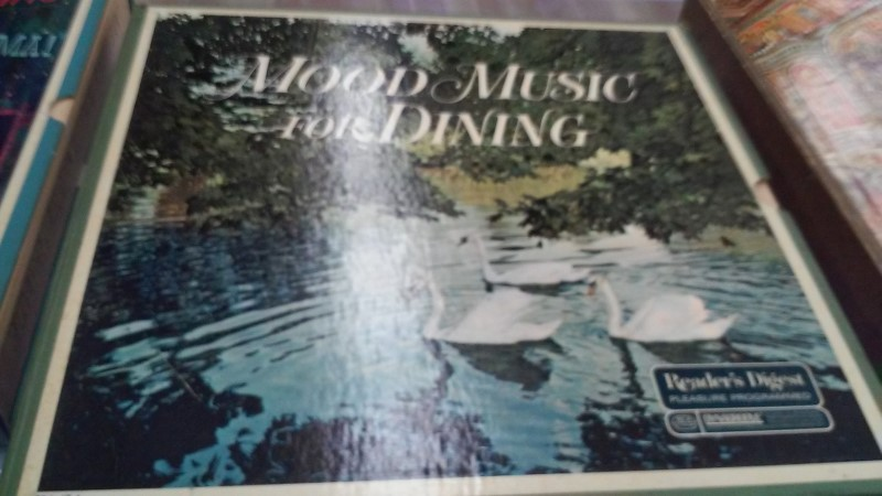 READERS DIGEST Record MOOD MUSIC FOR DINING