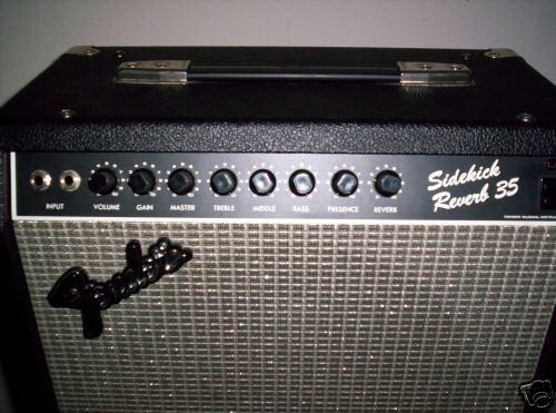 FENDER Electric Guitar Amp SIDEKICK 35 REVERB
