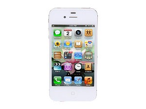 APPLE Cell Phone/Smart Phone IPHONE 4S MC924LL/A 16GB WHITE 3G