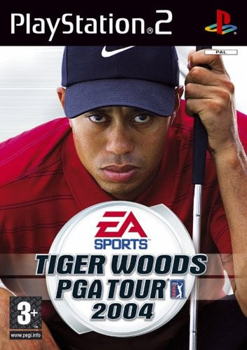 SONY Sony PlayStation 2 Game TIGER WOODS PGA TOUR 2004 PS2