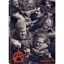 DVD BOX SET DVD SONS OF ANARCHY SEASON 6