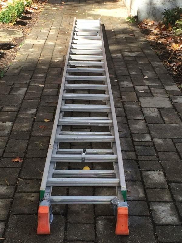 WERNER LADDER Ladder EXTENSION 28` LADDER