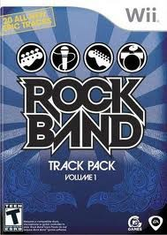 NINTENDO Nintendo Wii Game ROCK BAND TRACK PACK VOLUME 1
