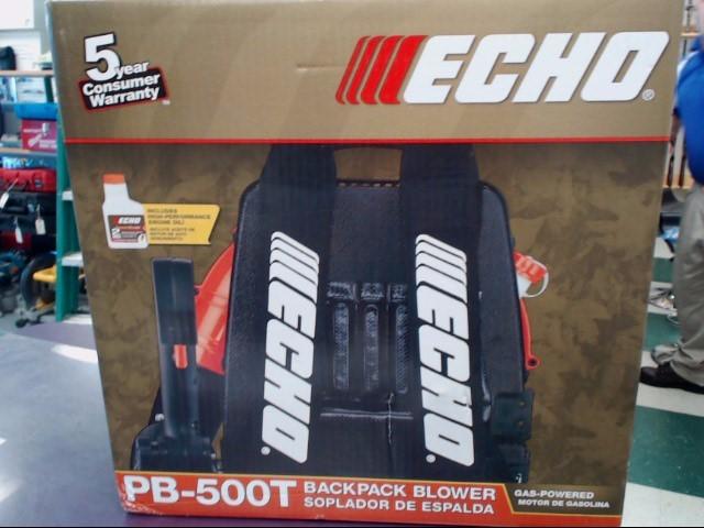 ECHO Leaf Blower PB-500T BACKPACK BLOWER