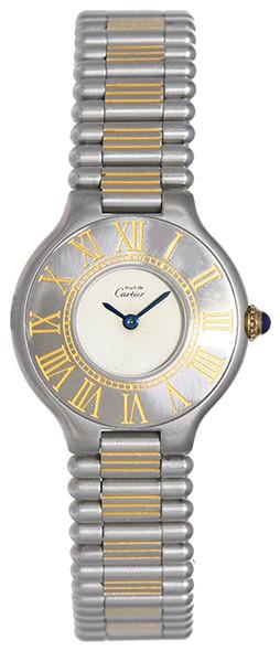 CARTIER Lady's Wristwatch MUST DE 21 TWO-TONE