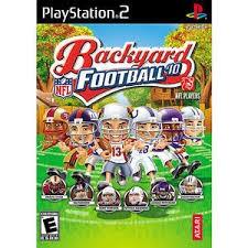 SONY Sony PlayStation 2 BACKYARD FOOTBALL 10