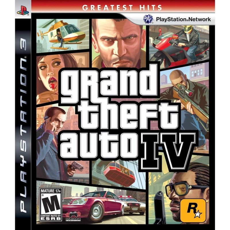 SONY Sony PlayStation 3 Game GRAND THEFT AUTO IV GREATEST HITS