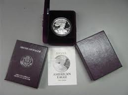 UNITED STATES Silver Coin 1993 SILVER PROOF EAGLE