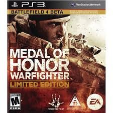SONY Sony PlayStation 3 Game MEDAL OF HONOR WARFIGHTER LIMITED EDITION